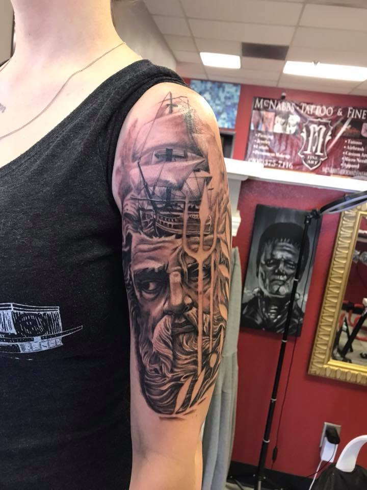 Best tattoo shop Boise Dunaway