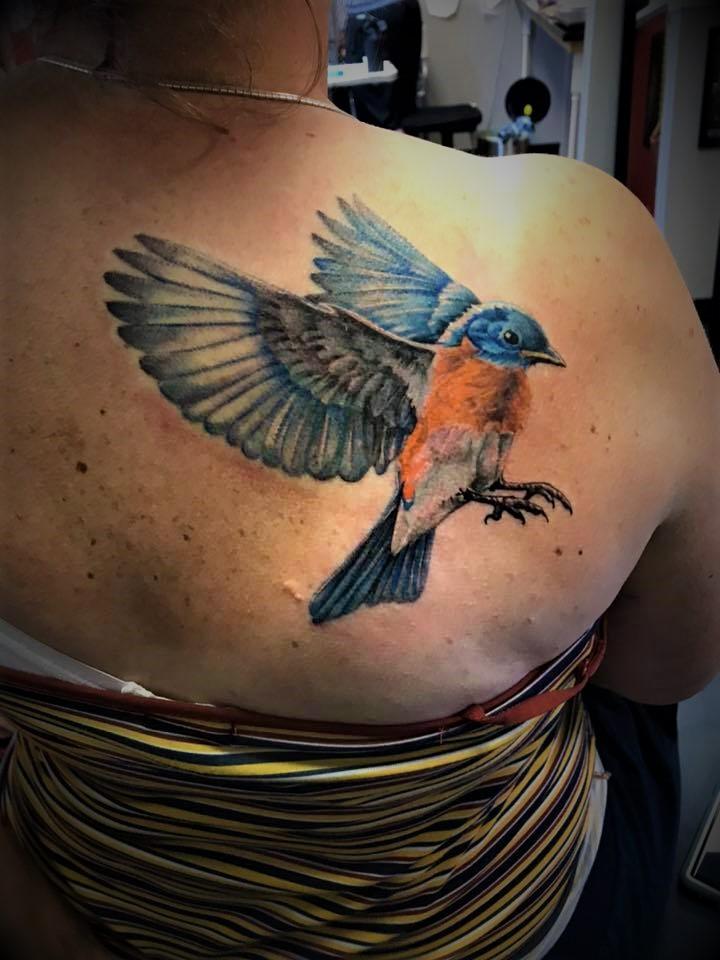 Boise's best tattoo Dunaway
