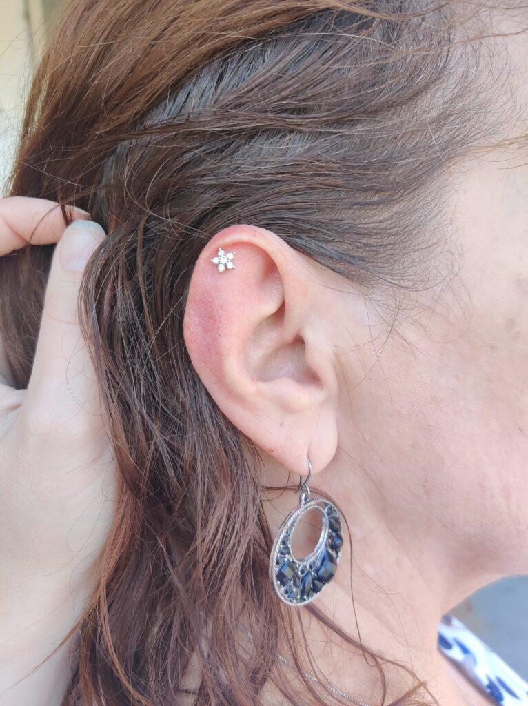 Ear piercing Boise Destiny
