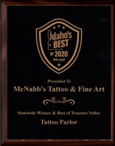 McNabbs Tattoo Best of 2020
