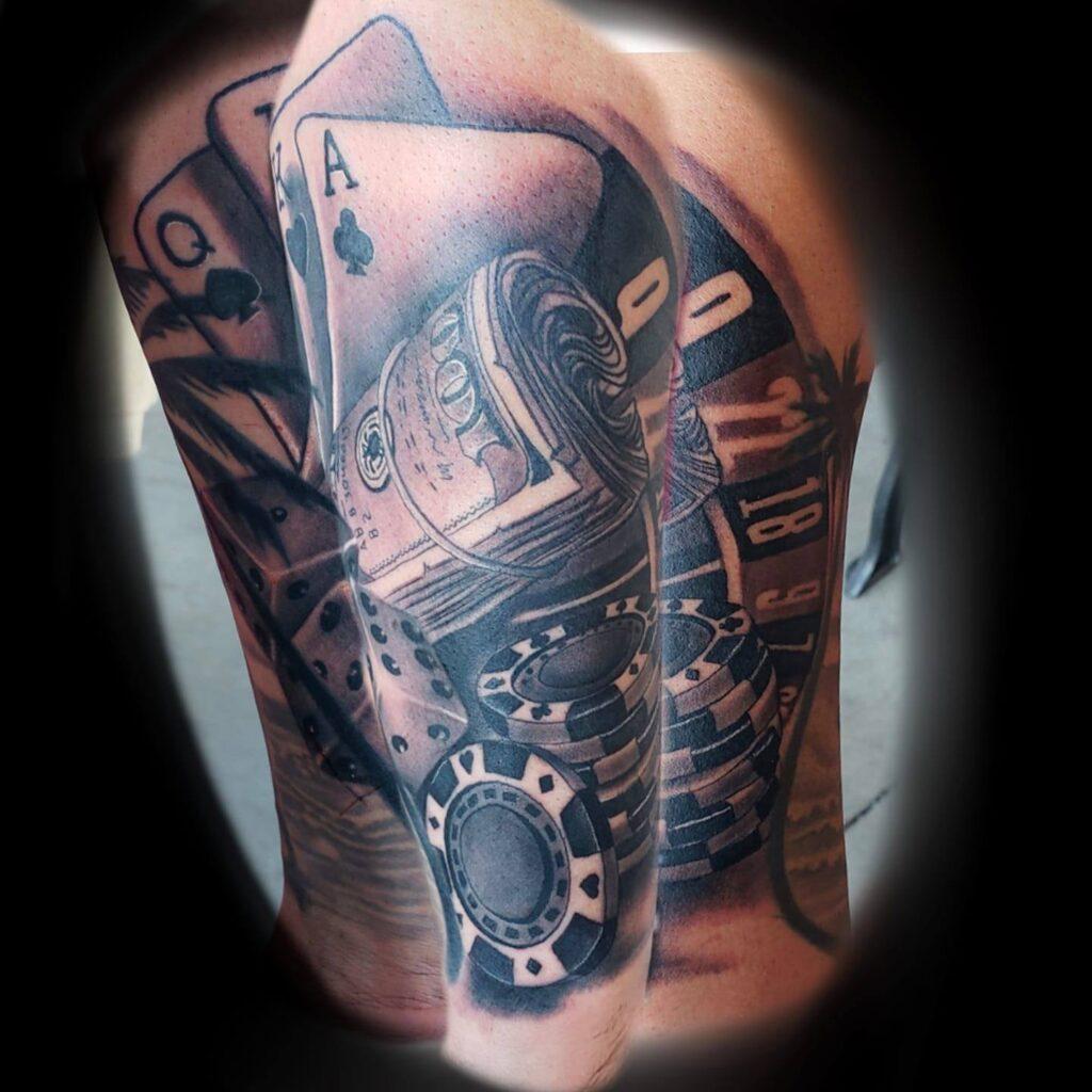 Tattoo artist Shaun