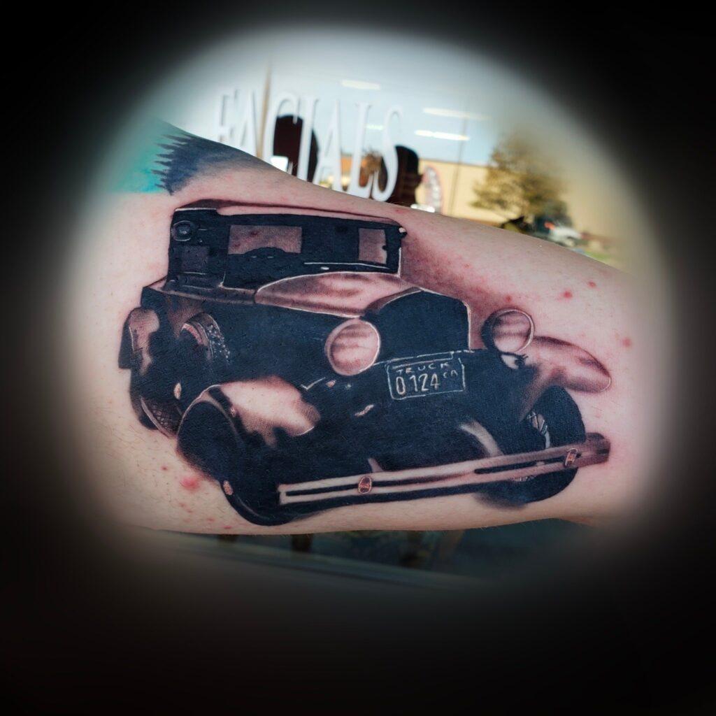Tattoo shop Shaun