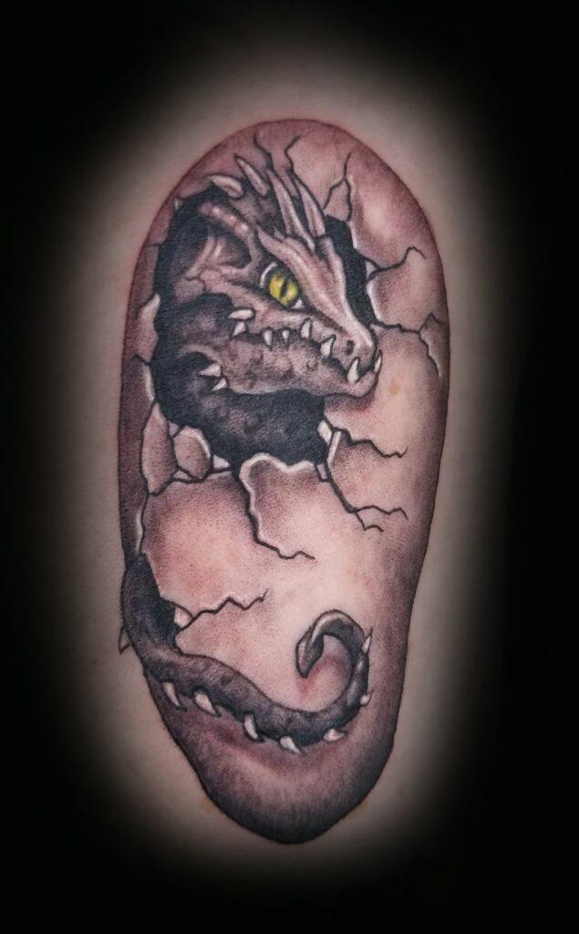 dragon tattoo Boise
